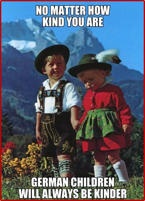 Native German Boy and Girl